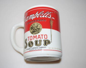 Campbell's Tomato Soup Coffee Mug Cup