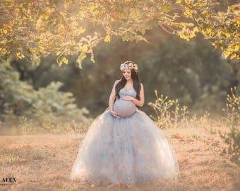 Slim Evelyn Tutu, Any Color, Any Length, Maternity Tutu (Tutu Only)