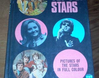Top Pop Stars Book Rare 60's UK Music Stones Hendrix Scott Walker Kinks 1968 Vintage Original Rare Collectible