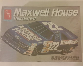Maxwell House Thunderbird AMT/ERTL 1/25 Scale Model Kit, 1991