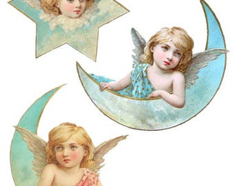 Victorian Scrap Angels Digital Download