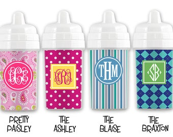 Monogrammed Sippy Cup-Personalized Sippy Cup-Customized Sippy Cup-Baby Sippy Cup-Kids Sippy Cup-Personalized Kids-Personalized Baby