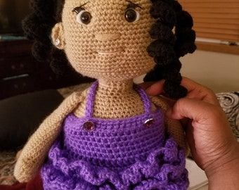 Jenna Doll Amigurumi Crochet Pattern
