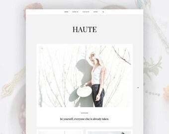 Responsive Blogger Template | Haute