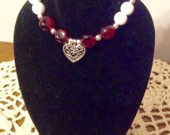 """Beads and Hearts Jewelry Set for Your 18"""" Doll or American Girl Doll."""