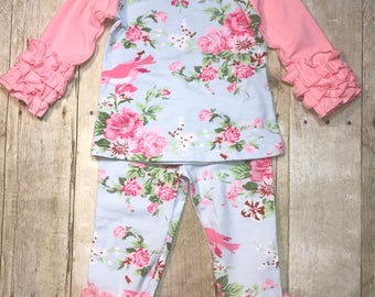 Frilly Flower Boutique Outfit