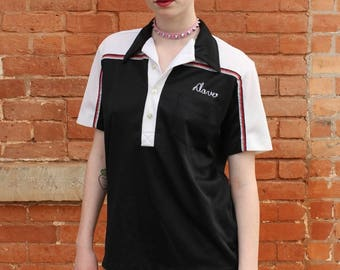 Dave the Butcher Angeltown Vintage 1970s Bowling Shirt