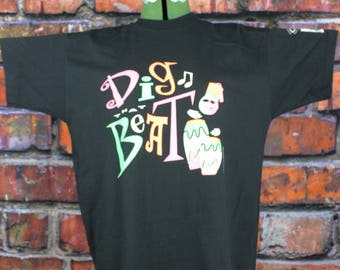 Dig The Beat Vintage NOS 1990s T-Shirt