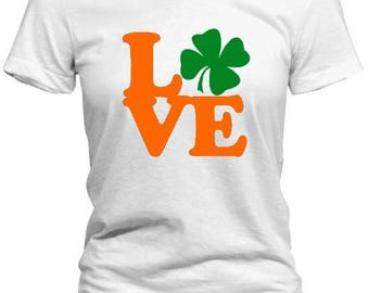 Show The Love St. Patrick's Day Tee