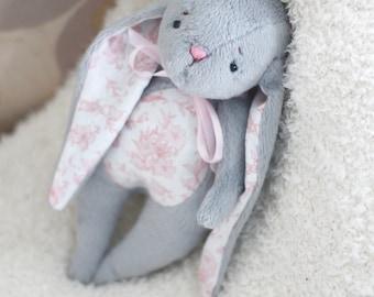 Stuffed Animal- Toy Bunny - Handmade Bunny - Bunny Toy - Tati Bunny