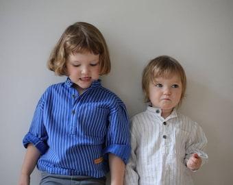 Solberg Bright Blue Kids Shirt