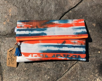 INVENTORY SALE! Simple Zip Clutch - Downtown Rave