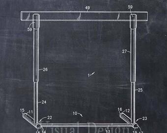 Hurdle Patent Print - Patent Art Print - Patent Poster - Track Art - Hurdler - Track Coach Gift