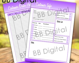The Customer Pack - Younique Marketing ~ Digital Download ~ Volume .1.    Marketing    Younique    Direct Sales    Customer Forms   