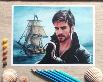 Neverland (Captain Hook) - Once Upon A Time print