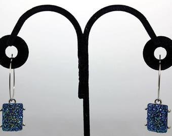 Blue Rock Earrings
