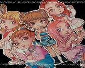 RED VELVET Russian Roulette | Joy, Irene, Seulgi, Yeri, Wendy | Stickers