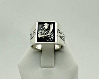 Vintage Stripling Warrior Sterling Silver Ring Size 9 1/2 FREE SHIPPING!  #WARRIOR-L2