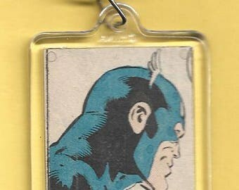 Marvel Captain America Plastic Keychain #1