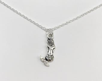 Silver Mermaid Necklace/Mermaid Necklace