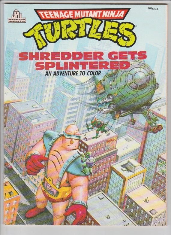 like this item - Tmnt Coloring Book
