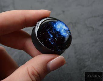 Pair Gauges Space image ear wooden plugs 4,5,6,8,10,12,14,16,18,20,22-60mm;6g,4g,2g,0g,00g;1/4,5/16,3/8,1/2,9/16,5/8,3/4,7/8,1 1/4,1 9/16""