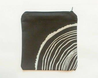 Tree Stump Zipper Bag
