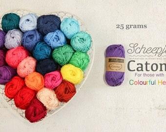 Scheepjes Catona 25g Mercerized Cotton - Scheepjeswol cotton yarn