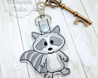 Raccoon Keychain - Key Fob