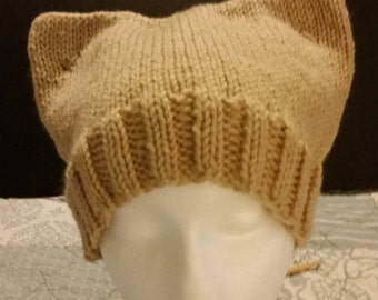 Knit Cat Ears Hat (4 Colors available)