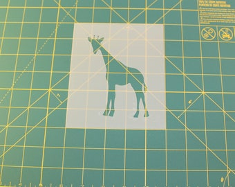 Giraffe Stencil - Reusable DIY Craft Stencils of a Giraffe
