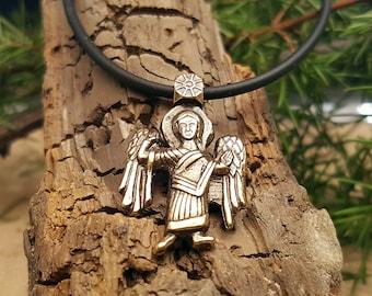 Pendant Guardian Angel . Christianity jeverly. Slavic talisman.