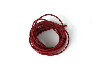 Red cork rope 3 mm 40 inches