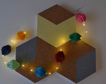 Origami Paper Lights