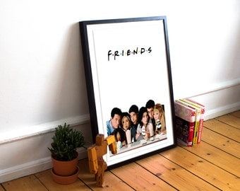 Friends / Friends inspired Art Print / Friends TV Show / Minimalist TV Poster / Film Poster / Friends Poster / Central Perk