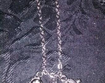 3PC Sea Creature Charm Necklace