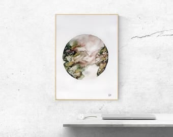 Abstract Watercolor painting | Original