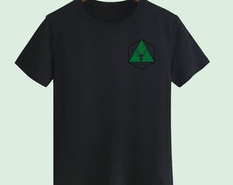 Green deer Unisex T shirt T Shirts For Men T Shirts For Women T Shirt For Youth Street T-shirts Hipster T Shirt Customize Gift T Shirt