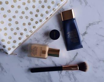 Toiletry Bag, Makeup Bag, Cosmetics Bag, Travel Makeup Bag, Toiletry Pouch, Toiletry Holder, Make Up Bag, Make Up Pouch, Zipper Pouch, OOAK