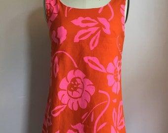 1960's Hawaiian Micro Mini Dress