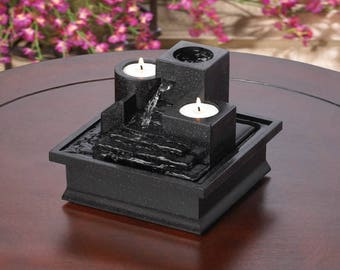 Temple Steps Tabletop Fountain