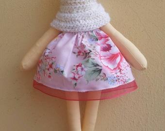 Catherine Ballerina with Flower dress and white tutu