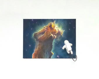 The Outsider (2017)-Acrylic Painting of the Eagle Nebula