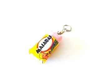 """Keychain - """"when there's is Malabar!""""-fabric"""