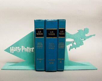 Harry Potter handmade bookends. Nursery decor. First birthday gift. Baby present idea