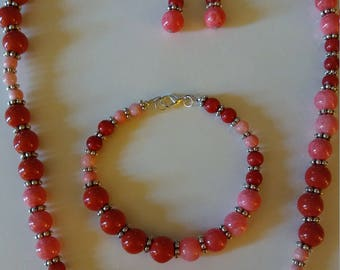 Jewelry Pink and Red