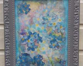 Meadow series If I Were A Bee #1 Forget Me Not Blue
