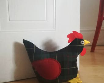 Chicken doorstop - Chicken gift - Gifts for her - Gifts for mum - Gifts for sister