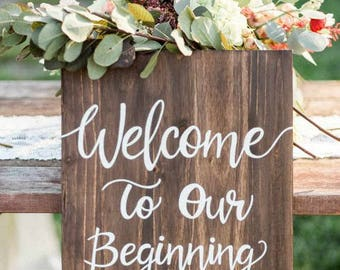 Wedding Decor Sign
