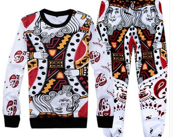 King Queen Sweatshirts + joggers